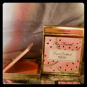 Too Faced Makeup - Too Faced Fruit Cocktail Blush Duo